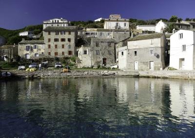 Le port d'Erbalunga, vue par la photographe Carine Poletti