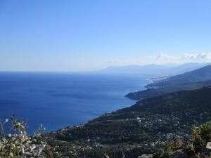 Montagne et mer, en Corse