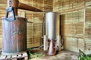 L' atelier de distillation Intimu
