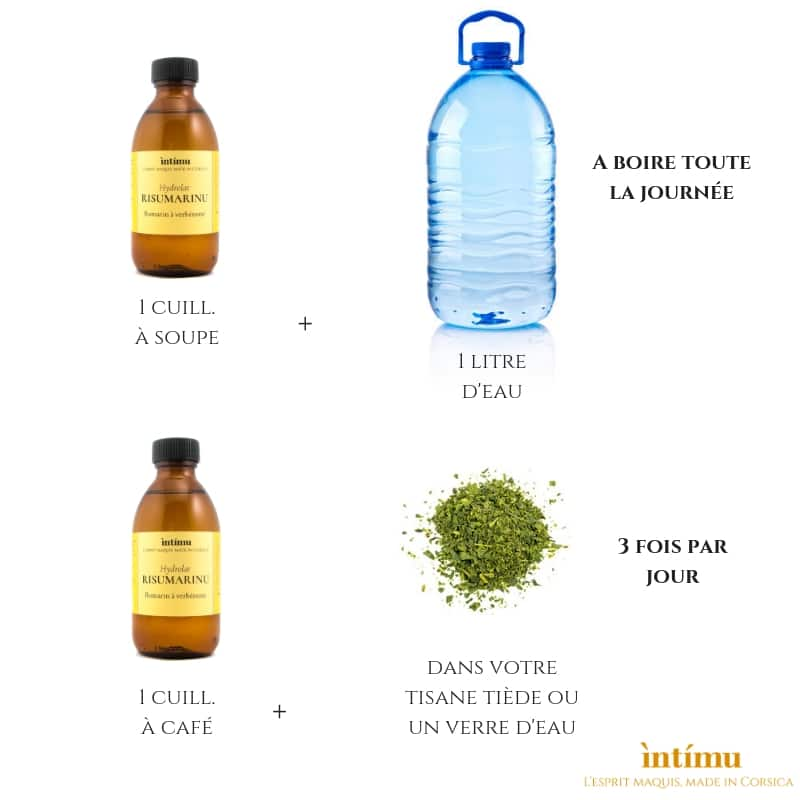 Réalisez votre cure détox grâce aux hydrolats de romarin