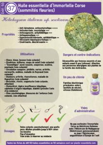 Cécile Mahé, auteure du blog plante essentielle, propose des fiches sur les huiles essentielles