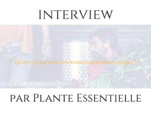 Interview de Cécile Mahe du blog Plante essentielle