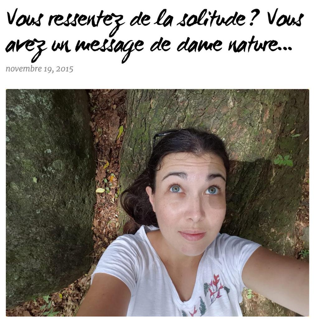 Cécile Mahe du Blog Plante Essentielle