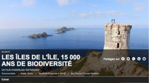 Les iles de l'ile, documentaire sur le biodiversité corse