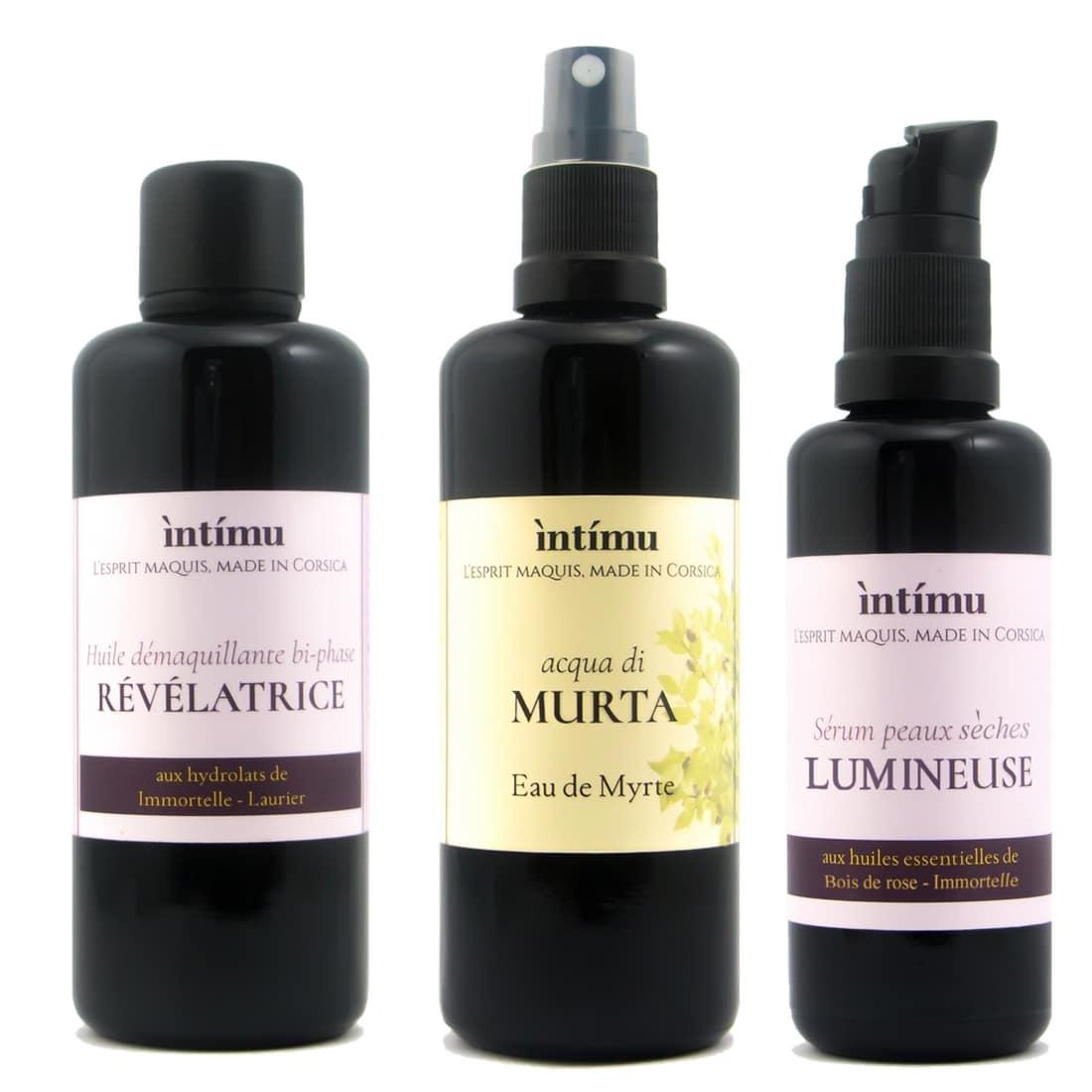 routine peau sèche intimu