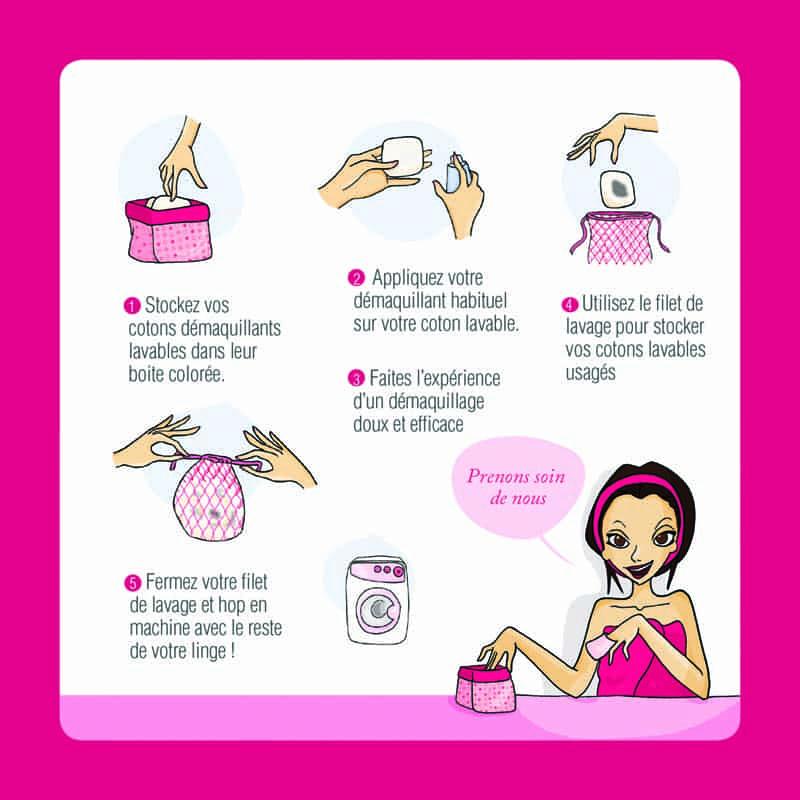 Comment entretenir ses disques lavables et réutilisables Clarange