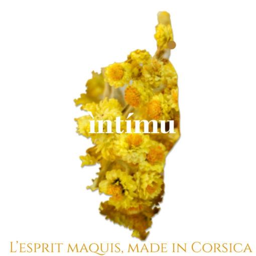 Intimu produit tous ces soins dans le Cap en Corse