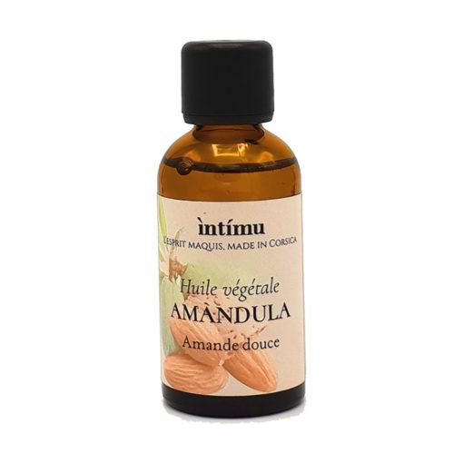 Huile d'amande douce bio comme base de vos mélanges avec huiles essentielles BIO