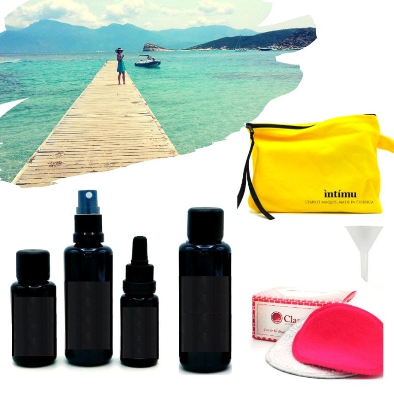 Voyagez léger avec vos soins cosmétiques au format voyage