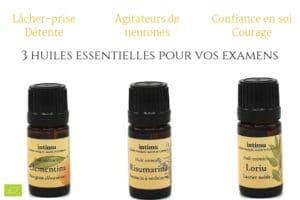 3 huiles essentielles pour réussir ses examens