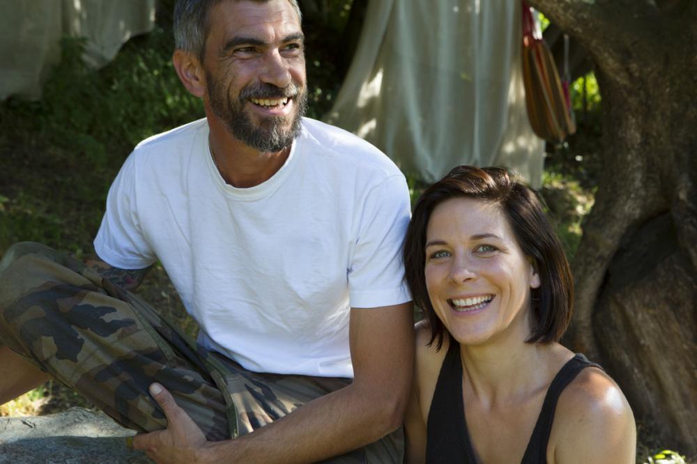 Hélène et Laurent, producteurs d'huiles essentielles du Cap Corse