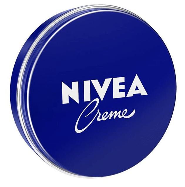 Crème Nivéa avec eau et dérivé de pétrole