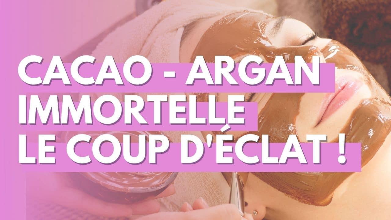 Cacaco-argan-immortelle corse