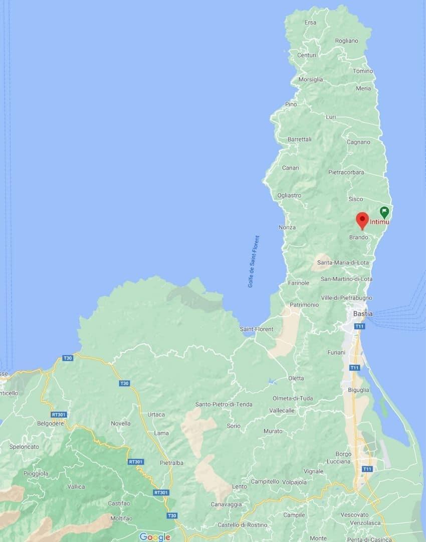 viste de la Distillerie d'huiles essentielles Intimu dans le Cap Corse